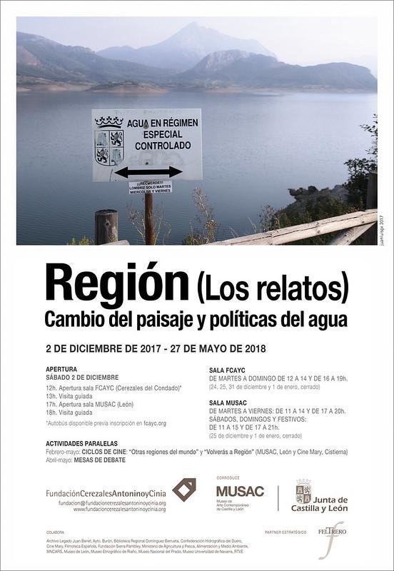 REGION (LOS RELATOS) - FUNDACIÓN CEREZALES, ANTONINO Y CINIA & MUSAC - INAUGURACIÓN SÁBADO 2 DE DICIEMBRE´17