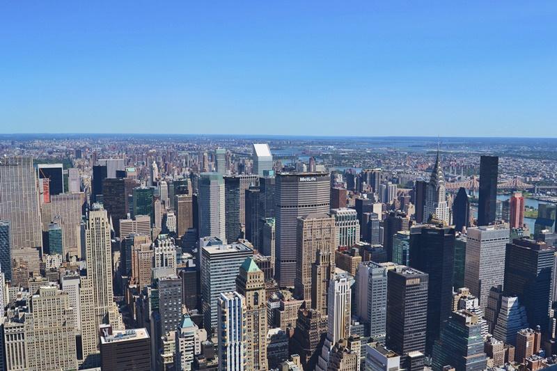 kuva yläilmoista new york