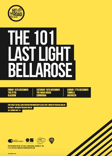 Hit The Road, 15-19 December 2017, with The 101, Last Light and Bellarose