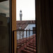 View of Palazzo Vecchio from one of the windows in my suite