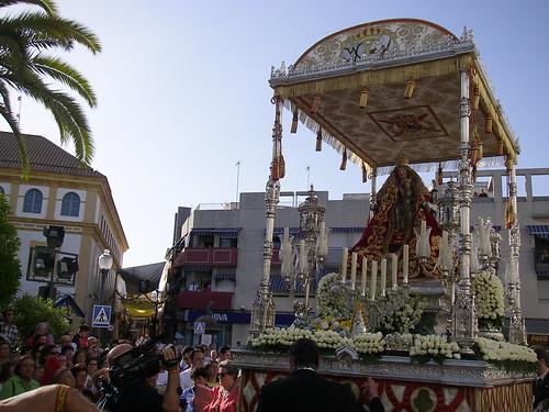 Procesión extraordinaria de la Virgen de Valme en 2012