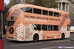 Wrightbus NRM NBFL - LTZ 1161 - LT161 - Bumble - Aldwych 9 - RATP Group London - London 2017 - Steven Gray - IMG_5267