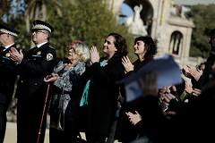 dg., 19/11/2017 - 12:59 - Ada Colau assisteix a l'acte del Dia Mundial en Record de les Víctimes d'Accidents de Trànsit