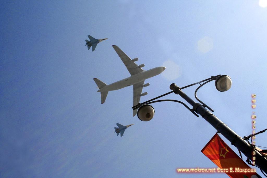 Военный парад 9 мая 2008 г. в Москве — Россия фото достопримечательностей