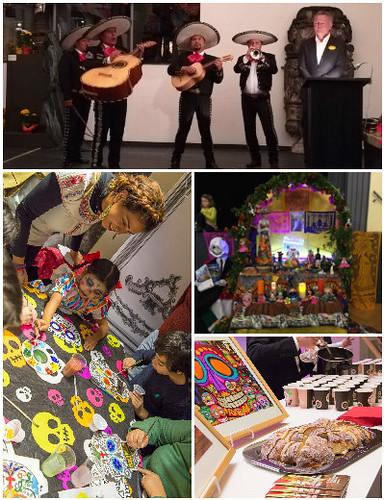 Consulado celebra el Día de los Muertos en Stuttgart, Múnich, Kassel y Frankfurt