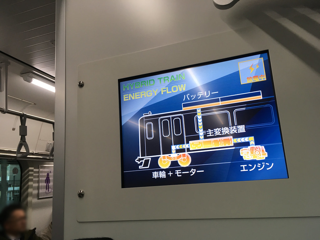 日本仙石線油電混合列車HB-E210