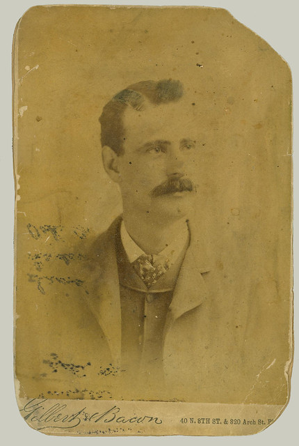 Cabinet Card portrait of Man