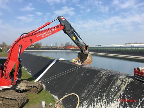 Onderhoud en reparaties aan waterbassins
