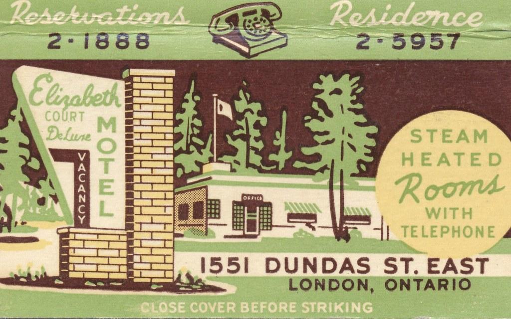 Elizabeth Court Motel - London, Ontario