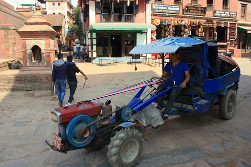 J33 : 23 octobre 2017 : Katmandou - Bhaktapur - Thamel