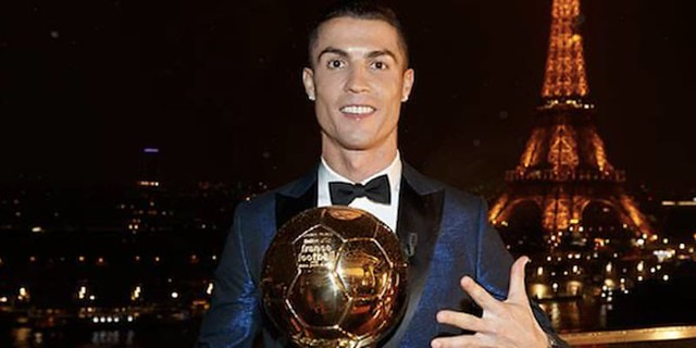 Ballon D'Or Kelima Jatuh Ditangan Cristiano Ronaldo