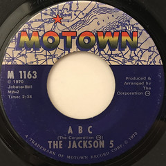 THE JACKSON 5:ABC(LABEL SIDE-A)