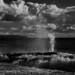 D7K_7892: Highcliffe Beach, Dorset in Infrared
