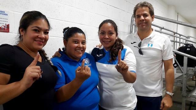 Día 4 tiro deportivo y caza, Juegos Bolivarianos en Cali