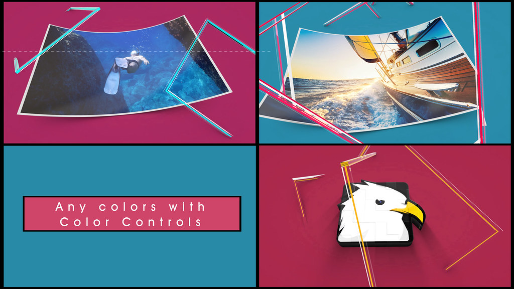 Line Drawing After Effects : Art line logo reveal d object after effects templates
