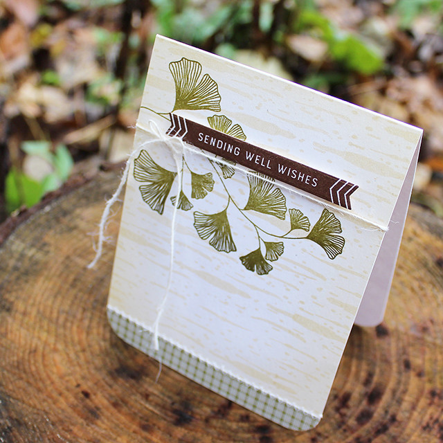 Ginkgo Well Wishes Card 3