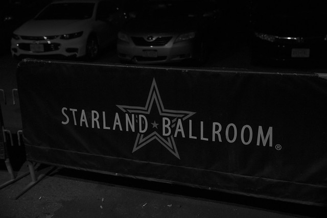 Venue banner
