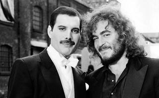 Freddie Mercury & Michael Kamen @ London - 1986