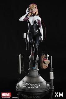 完全沈醉在音樂當中~ XM Studios Premium Collectibles 系列 Marvel【女蜘蛛人·關】Spider Gwen 1/4 比例全身雕像作品