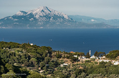 Ikaria - View from the south coast towards Samos island