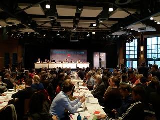 Parteitag der SPD Hamburg im November 2017