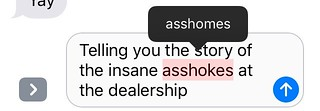 Stupid autocorrect. I did not mean