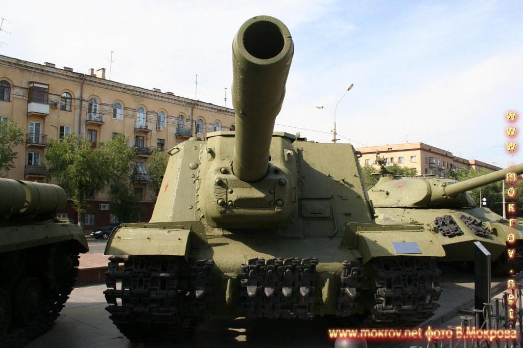 Тяжелая самоходная артиллерийская установка ИСУ-125.