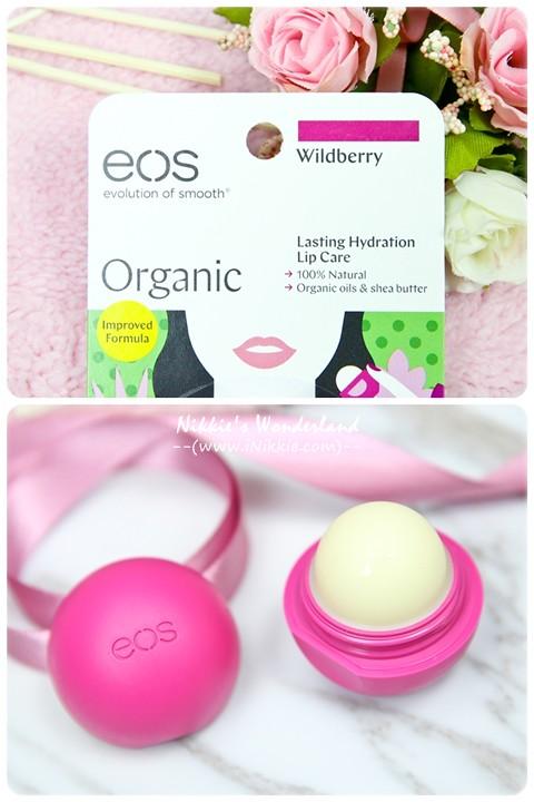 eos伊歐詩 天然護唇球Organic Lip Balm - 陽光野莓Wildberry
