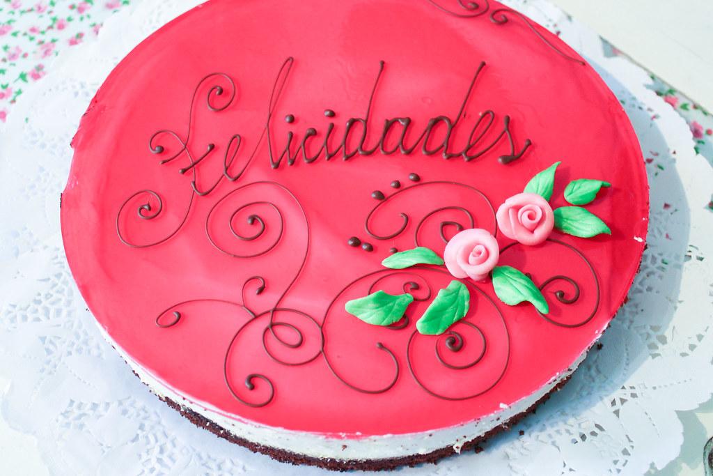 Herzlichen Glückwunsch-Kuchen
