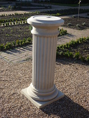 Shakespeare Garden - Lightwoods House - Lightwoods Park - Roman style column