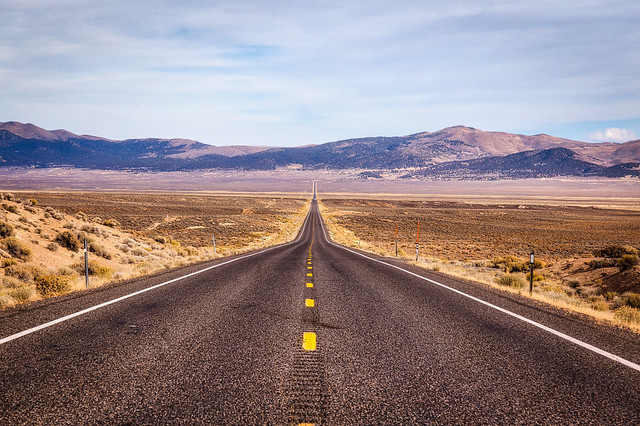 U.S. Route 50 Nevada The Loneliest Road