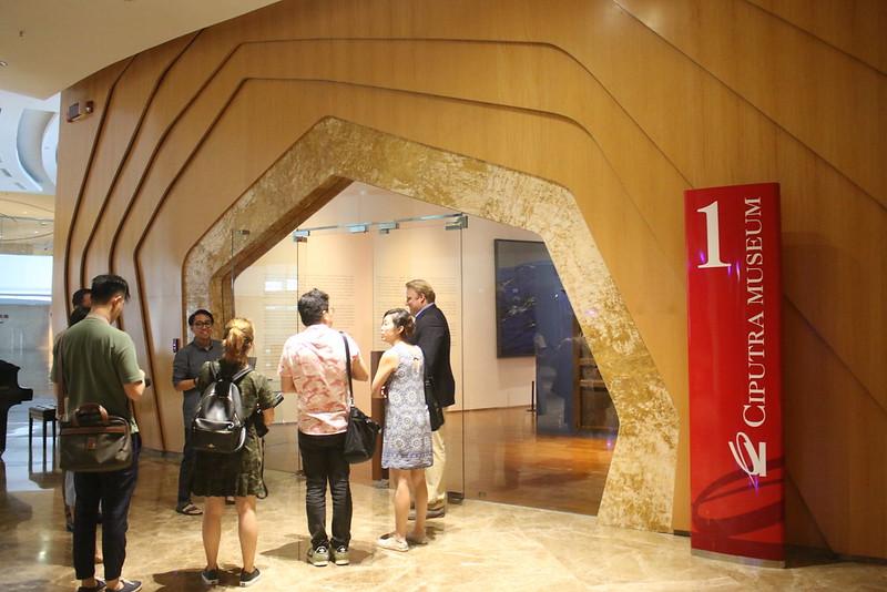 Ciputra Museum just outside Raffles Jakarta
