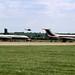 Vickers V.1151 Super VC10 ZD233 (G-ASGE) ZD493 (G-ARVJ) Brize Norton 23-6-84