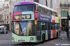 Wrightbus NRM NBFL - LTZ 1215 - LT215 - eBay - Hackney Central 38 - Arriva London - London 2017 - Steven Gray - IMG_5646