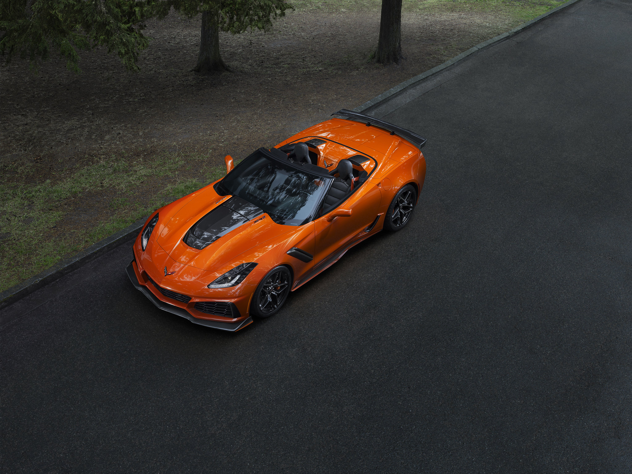 Chevrolet drops the top with the 2019 Corvette ZR1 convertible