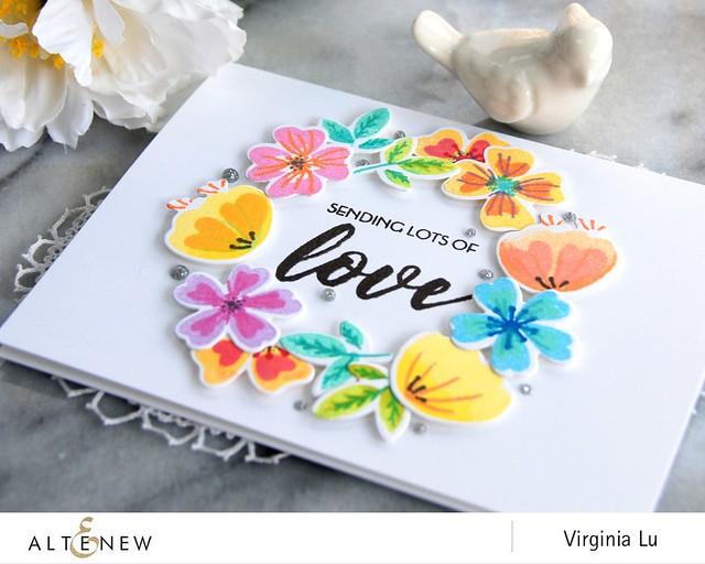 Altenew_HeartFlowers_Virginia #2