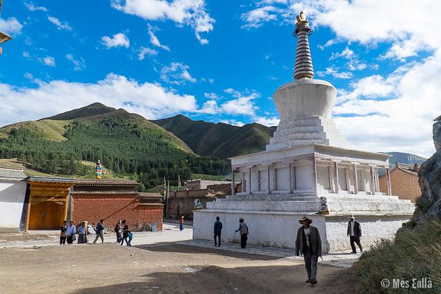 Chörten en Xiahe