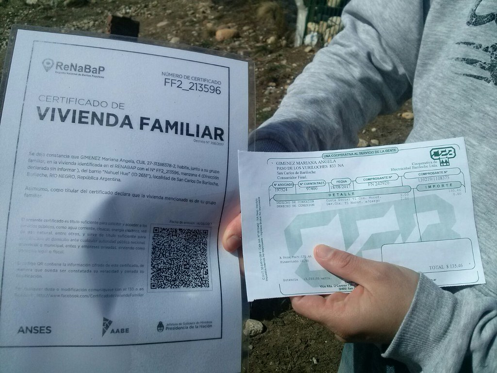 Solicitar el Certificado de Vivienda Familiar