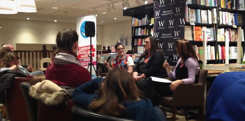 Nina Mega, Rachael Lucas and Catherine Simpson