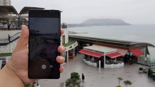 Samsung Galaxy Note 8 - Apariencia física