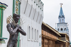 Wolverine in Moscow