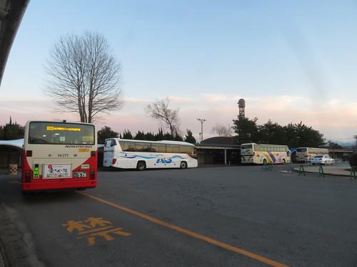 金沢競馬場からのバス