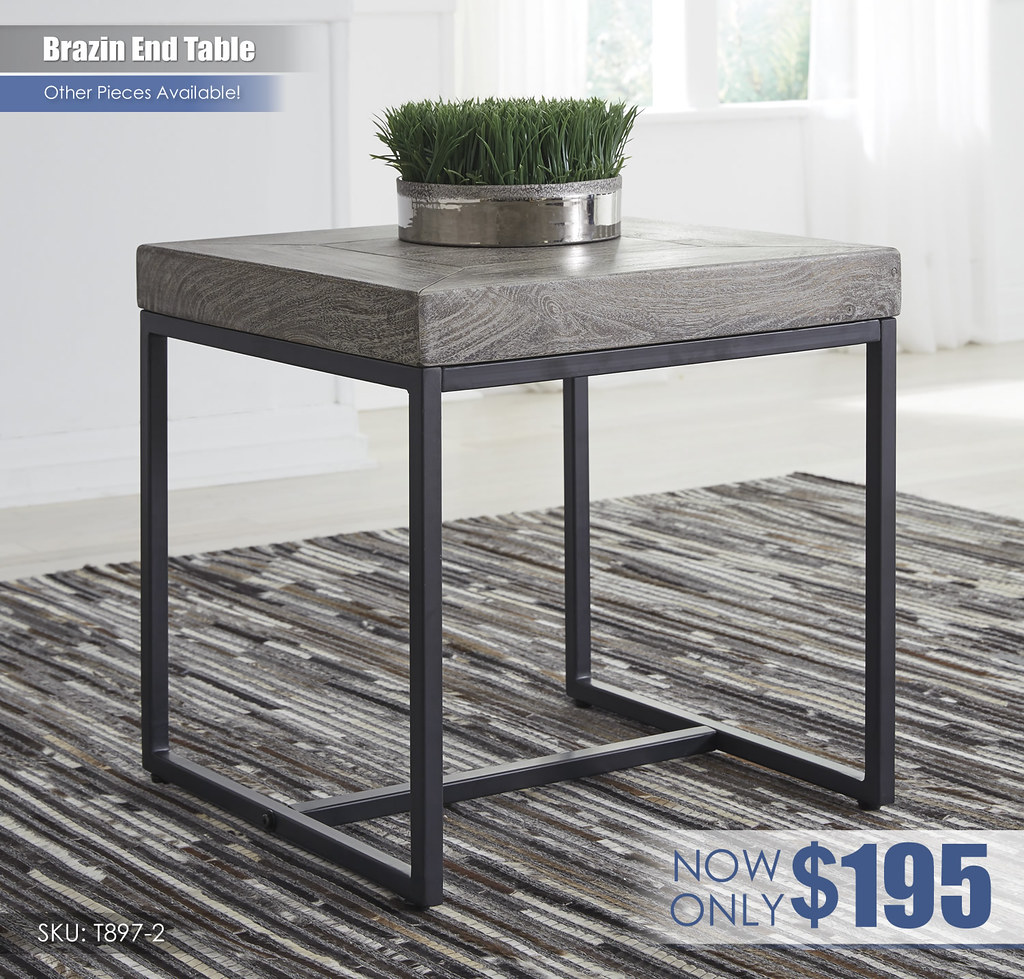 Brazin End Table_T897-2