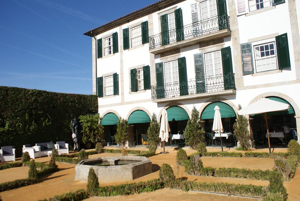 Restaurant du musée du romantisme à Porto.