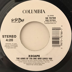 XSCAPE:THE ARMS OF THE ONE WHO LOVES YOU(LABEL SIDE-A)