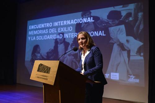 Encuentro Internacional: «Memorias del exilio y la solidaridad internacional»