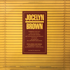 JOCELYN BROWN:SOMEBODY ELSE'S GUY(JACKET B)