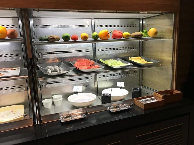 水果感覺比晚餐種類少?@宜蘭礁溪寒沐酒店
