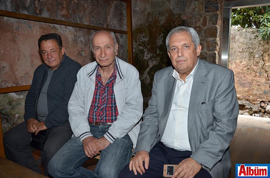 Mustafa Aras, Ahmet Aşık, Ekrem Göktaş