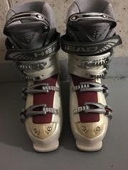 Sjezdové lyže Volkl, lyžařská obuv Head - titulní fotka